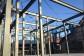 重量鉄骨の梁は中高層ビルにも使われる頑強な部材です。
