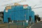 建物が構造用合板で覆われました。