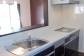 対面キッチンは解放感のあるオープンタイプです。